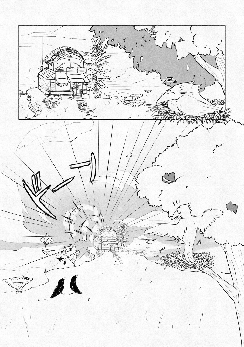 Chapter 01 – A home of feathers. P.02