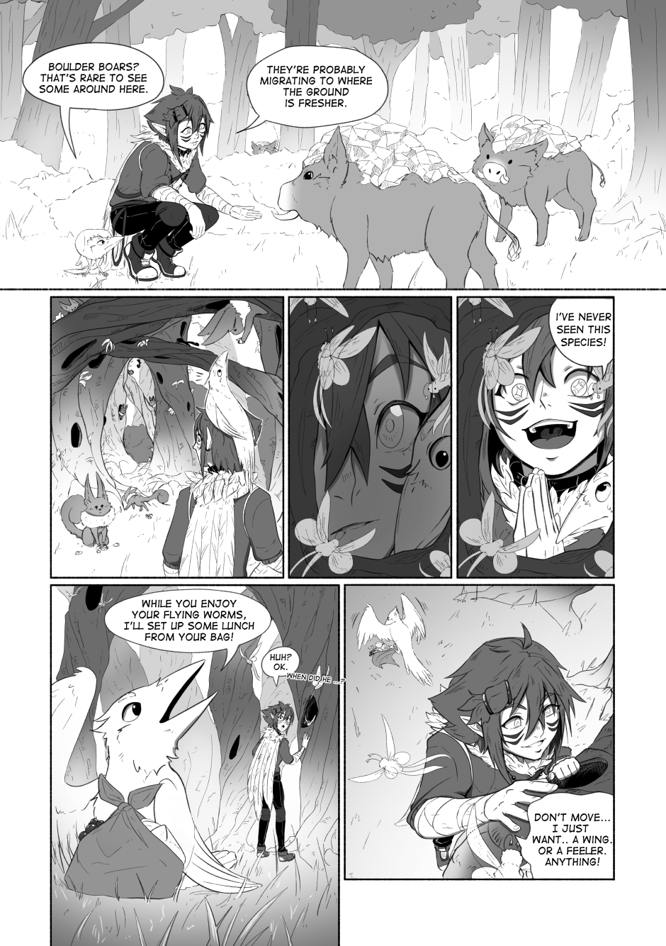 Chapter 02 – A beautiful flower. P.03