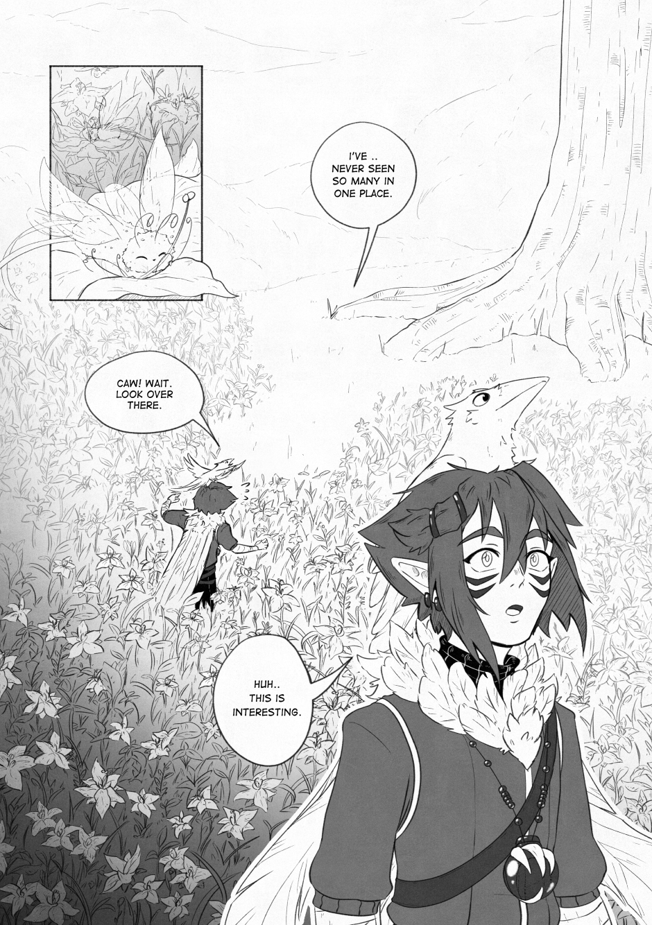 Chapter 02 – A beautiful flower. P.11