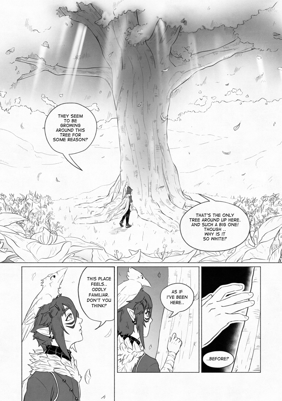 Chapter 02 – A beautiful flower. P.12