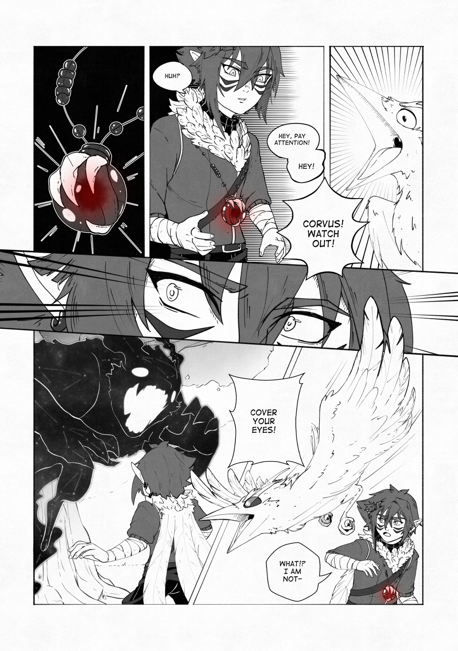 Chapter 02 – A beautiful flower. P.16