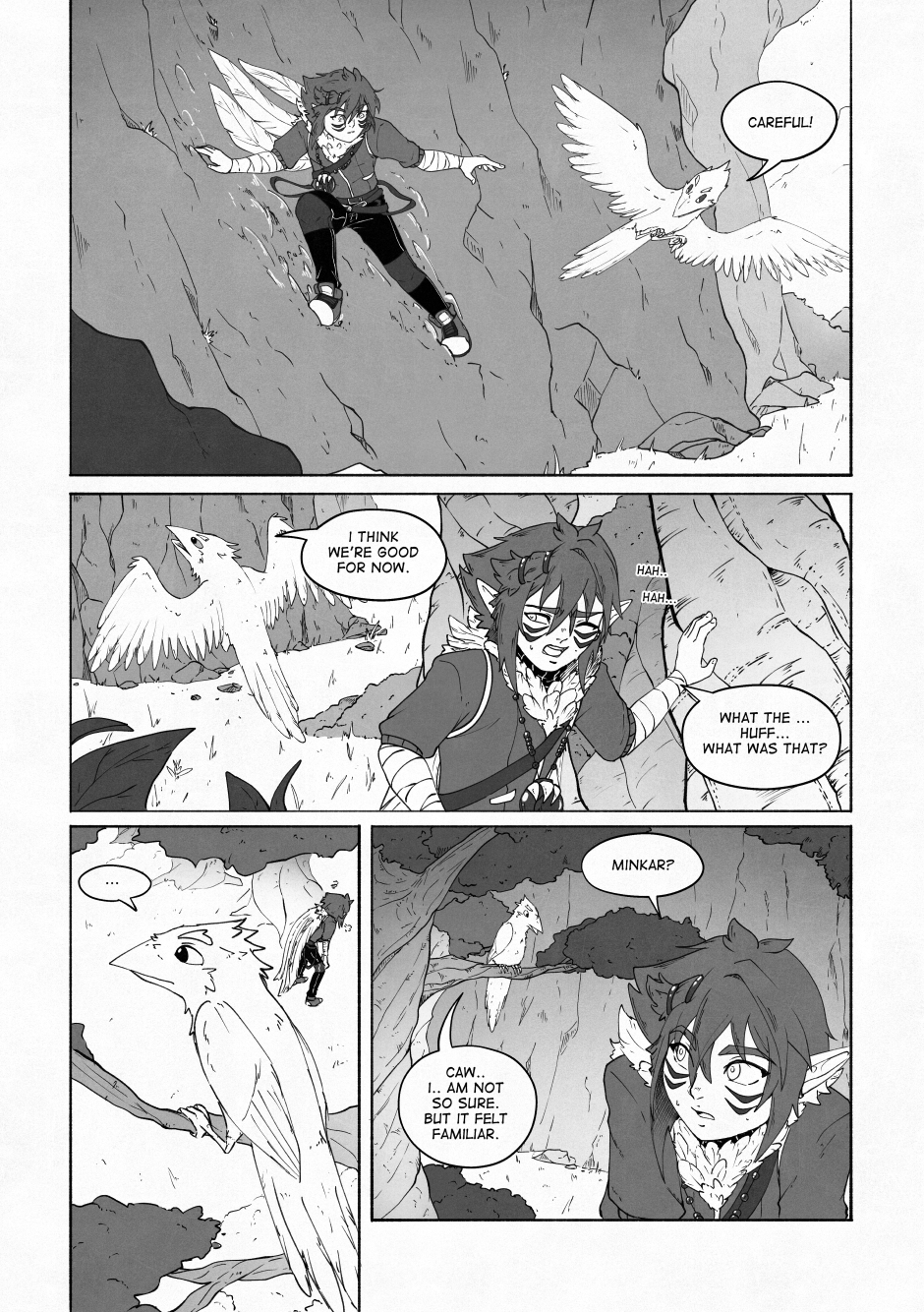 Chapter 02 – A beautiful flower. P.19
