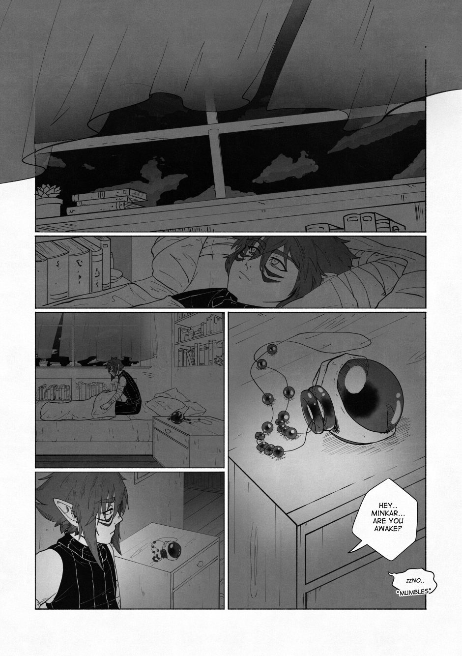 Chapter 02 – A beautiful flower. P.22
